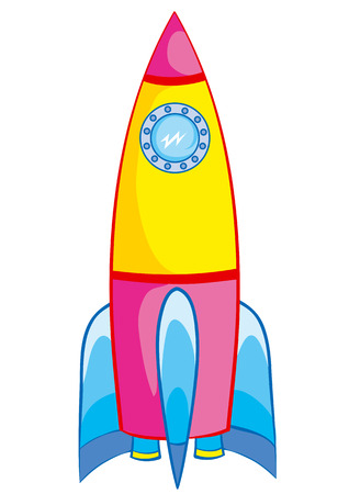 bright child model rocket toys Stock Vector - 7078036