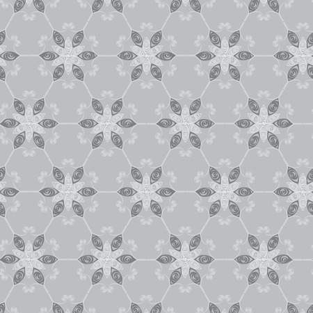 inspired: Pattern that inspired by snowflake Illustration