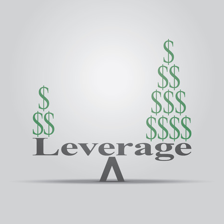 How leverage in economy works.