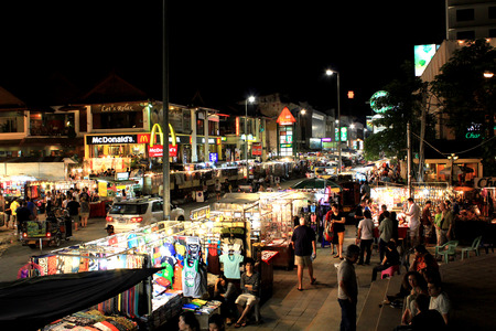 Chiang mai main night market street, Thailand