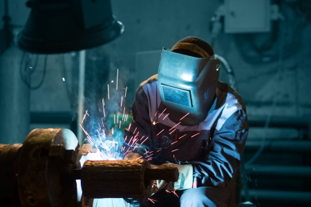 manufacturing plant: welding