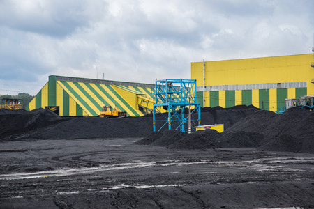coking: coal shipment. processing factory producing coking coal