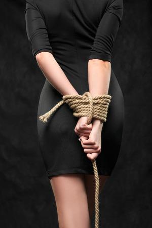bound hands Standard-Bild
