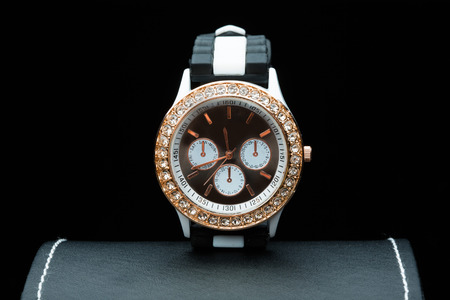 chronograph: ladies watch on the box