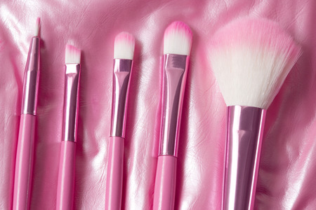 defining: pink professional cosmetic brush