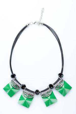 bijouterie: plastic necklace