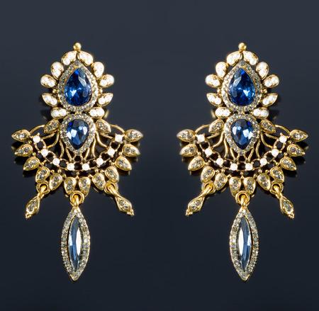 Pear Diamonds Earrings photo