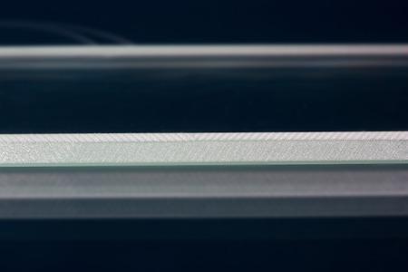 fibra de vidrio: Roving de cristal de fibra para el proceso pultrision. De fibra de vidrio de la ventana perfil de fabricación. Vidrio plano, borde de mecanizado