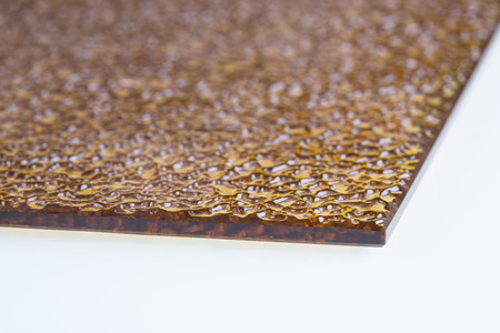 fluted: fluted glass. design element. Brown color. The wavy texture