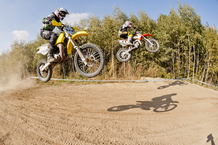 CZERWIONKA, POLAND - SEPTEMBER 2: Unidentified riders in action on Poland Top Amator Cup 2011.
