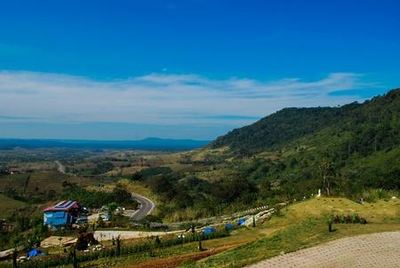 Mountain view taken from phetchabun ,thailand photo