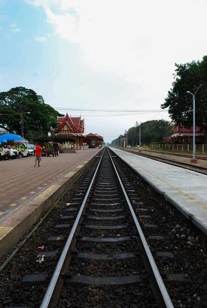 The Hua Hin railway photo