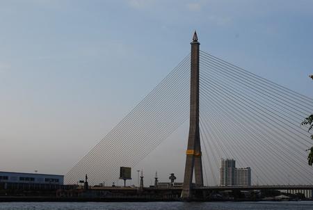 viii: Rama VIII Bridge in Evening