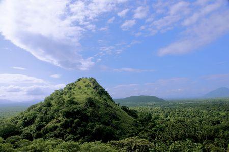 Montagne. Au Sri Lanka.  Banque d'images - 6195123