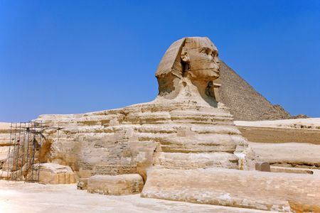 The Great Sphinx of Giza in 2009 Stock Photo