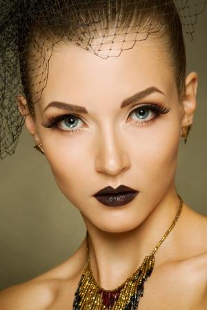 sexy fashion: Sexy fashion girl Stock Photo