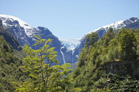 Glacier en Patagonie chilienne Banque d'images - 46651820