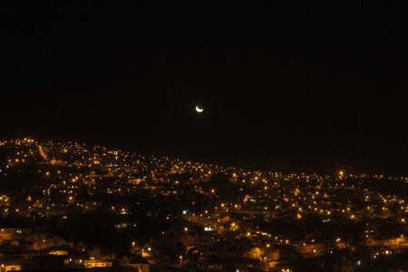 valparaiso: Citylights in Valparaiso, Chile
