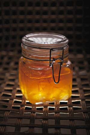 membrillo: dulce de membrillo hecho en casa Foto de archivo