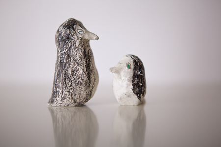 statuettes: Handmade penguin statuettes