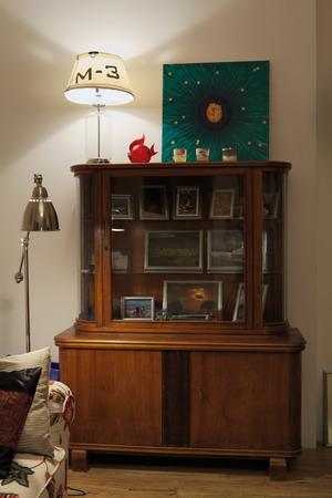 Vintage sideboard in interior