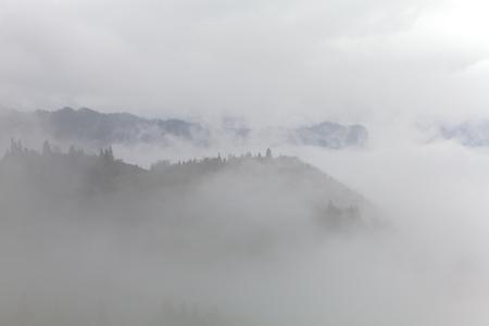 precipitacion: Niebla en el sur de China