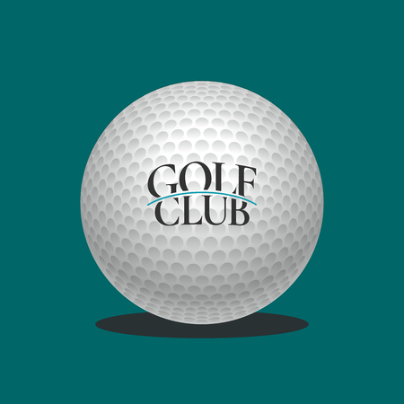 sports icon: Golf logo vector template. Golf course emblem