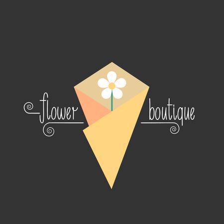 florist: Flower shop vector. Florist design. Hand drawn lettering Illustration