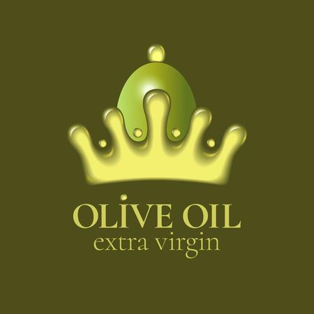 Olive oil vector design element