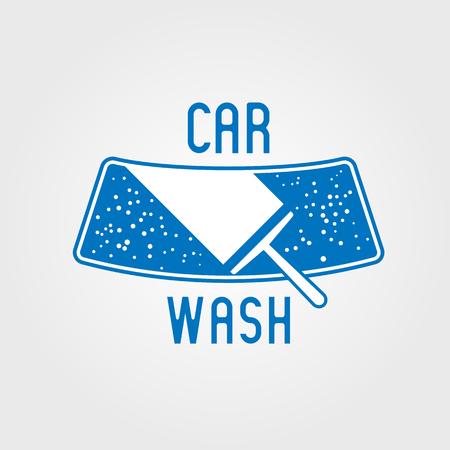 Car wash icon, design element. Car washing concept