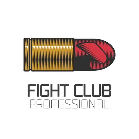 Boxing club icon, design element. Boxing concept