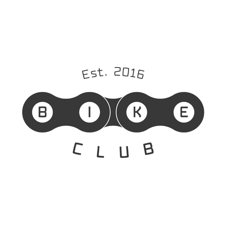 Bicycle vector logo, design element. Bicycling concept
