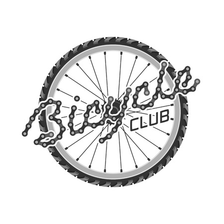 bicycling: Bicycle vector template logo, design element. Bicycling concept