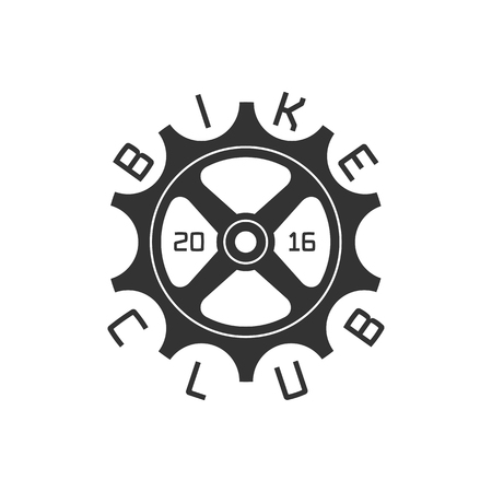Bicycle club vector template logo, design element. Bicycling concept Illustration