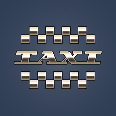 black cab: Taxi, cab vector. Car hire black and gold background, badge, app emblem. Pixel car and taxi sign graphic design element