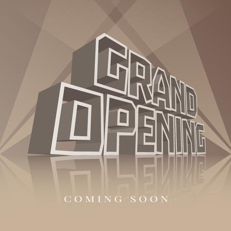 Feierliche Eröffnung Banner