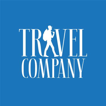 Travel company vector logo, symbol.
