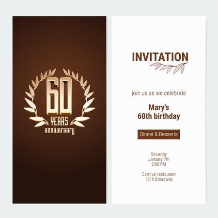 Invitación De 20 Años Del Aniversario Para Celebrar La