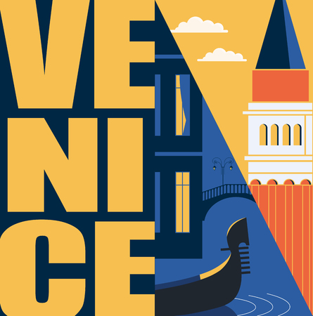 Rome, Italy vector banner, illustration. City skyline, St Pete in modern flat design style. Italian ancient landmarks in travel to Rome concept image Vettoriali