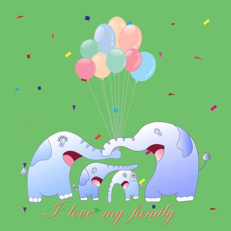 cute cartoon: cute cartoon elephant