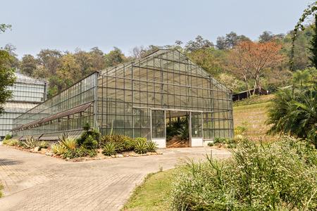 botanic: greenhouse in the botanic garden