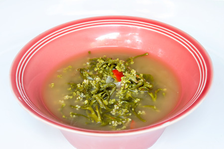 laxatives: Ceylon Spinach soup, Northern Thai food