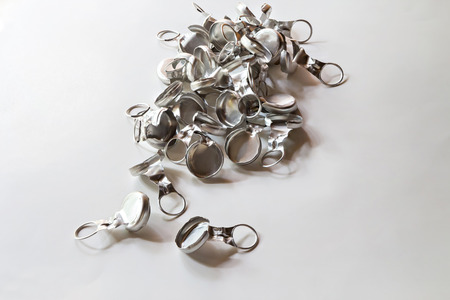 bottle cap opener: Pull-off bottle caps for recycle Stock Photo
