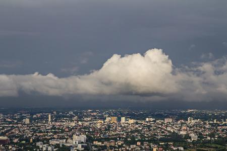 nimbus: nimbus over the city