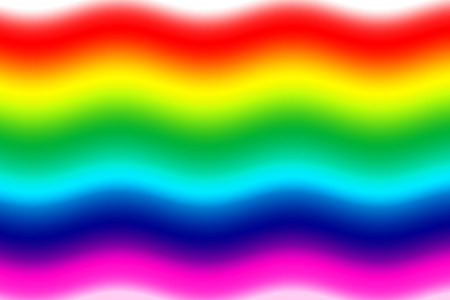 graphic: Abstract graphic rainbow flag