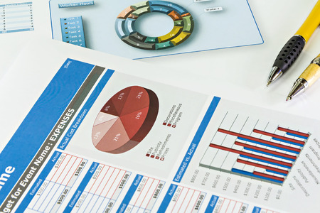 financial market: Business graph analysis report