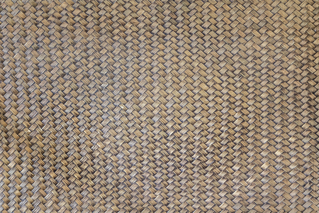 Old bamboo Weave Basket texture and background