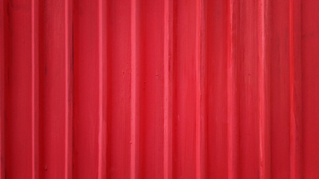 red metal: Red galvanized iron plate