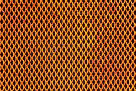 wire fence: Texture of orange wire fence for background