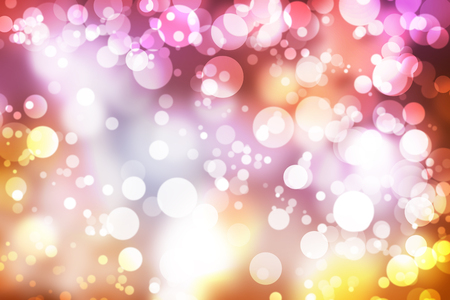 are gold: Abstract illustration bokeh light on blurred background